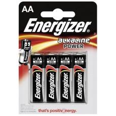 Батарейки пальчиковые ENERGIZER тип АА 4 шт