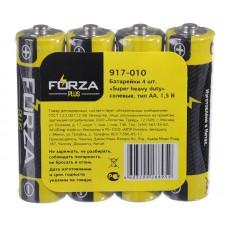 Батарейки пальчиковые FORZA тип АА 4 шт