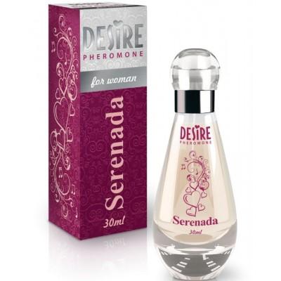Духи с феромонами для женщин DESIRE SERENADA De Luxe Platinum 30 мл