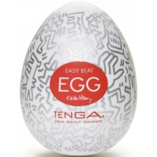 Мастурбатор яйцо Party TENGA&Keith Haring Egg
