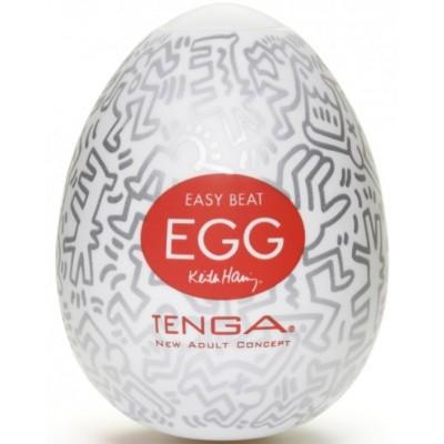 Мастурбатор яйцо Party TENGA&Keith Haring Egg