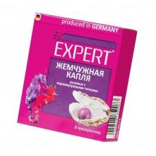 Презервативы Expert ''Жемчужная капля'' розовые с перламутровыми точками