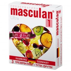 Презервативы Тутти-Фрутти Masculan Ultra 1(Tutti-Frutti)