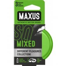 Презервативы MAXUS Mixed набор микс в железном кейсе