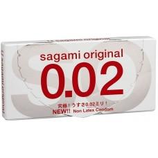 Презервативы SAGAMI Original 002 полиуретановые 2шт