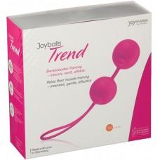 Вагинальные шарики Joyballs Trend розовые матовые